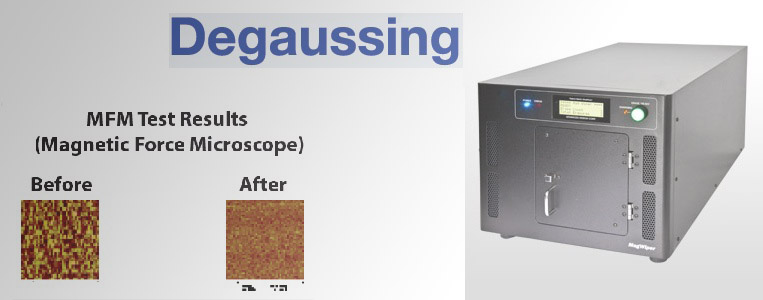 Degaussing Services